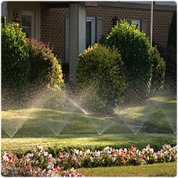 In ground sprinkler system cost